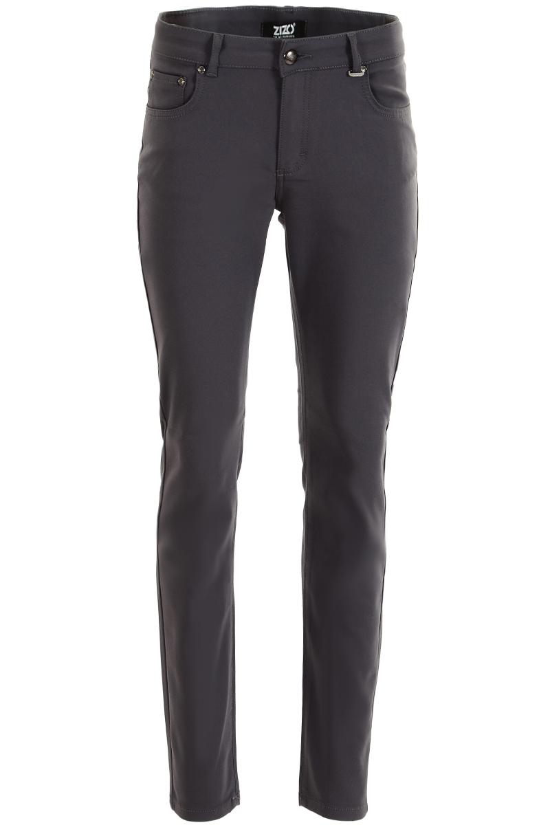 Basic chic Skinny 5 pocket voor een trendbewuste uitstraling. De voordelen van een chique polyamide kwaliteit zijn het hoge comfort en pasvorm., binnenbeenlengte 82 cm Hoge front-en backrise