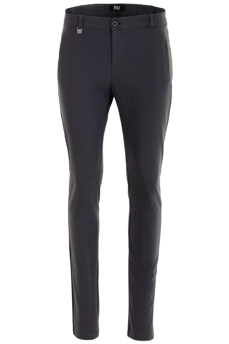 Basic chic en een extra skinny  broek voor een trendbewuste uitstraling. De voordelen van een chique polyamide kwaliteit zijn het hoge comfort en mooi afkledend. Perfecte pasvorm met fake paspelzakken voor  en achter en modellerende tailleband.