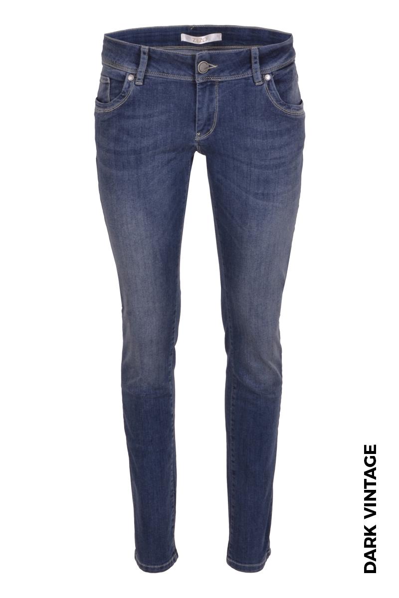 Super skinny broek in een mooie stoere donkere vintage wassing.