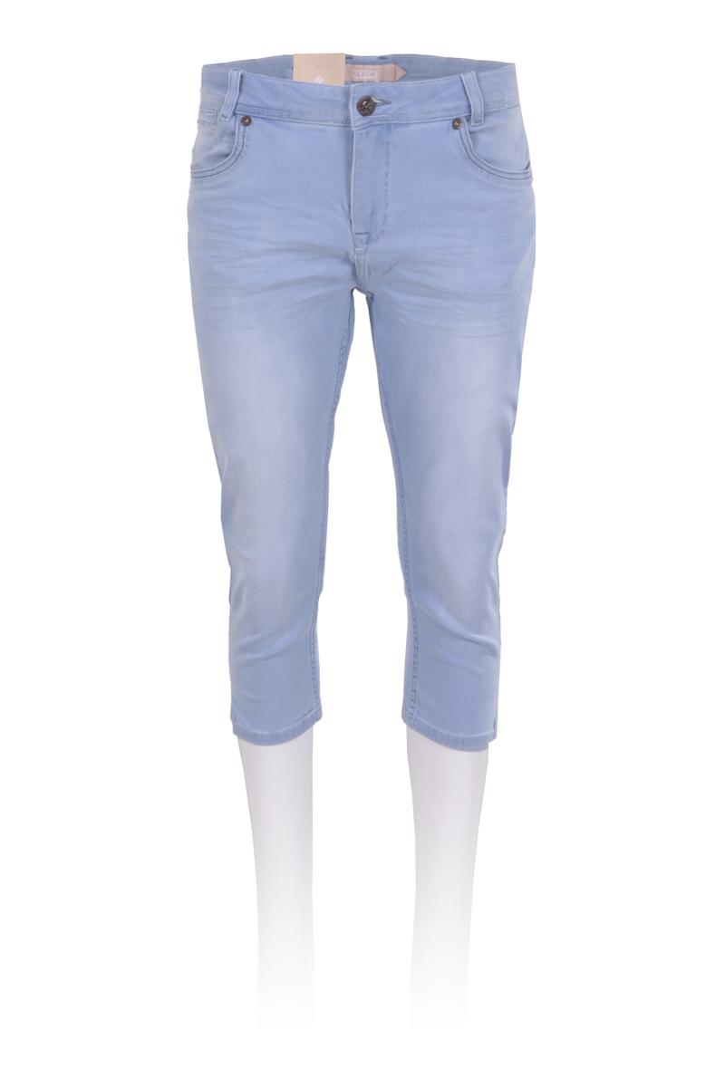 5 pocket capri broek in een mooie zomer wassing