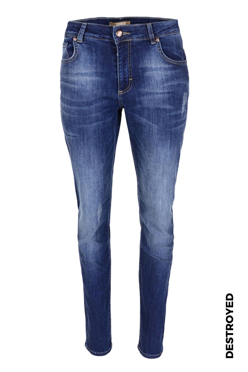 Skinny jeans in diverse wassingen. In 5-pocket-model met modellerende tailleband, riemlusjes en zadelpas. Binnenbeenlengte 82 cm.  Hoge front en backrise.
