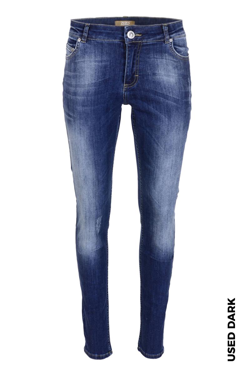 Skinny jeans in diverse wassingen. In 5-pocket-model met modellerende tailleband, riemlusjes en zadelpas. Binnenbeen lengte 82 cm Normale frontrise met hoge backrise